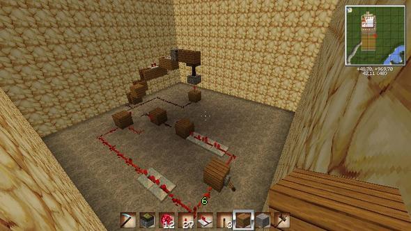 Bild 1 (Grundform) - (Minecraft, Computerspiele, Schaltung)
