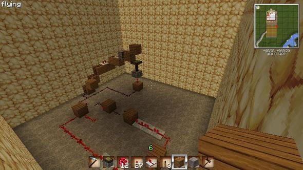 Bild 3 (der Fehler) - (Minecraft, Computerspiele, Schaltung)