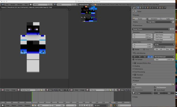Blender - (Minecraft, Blender)
