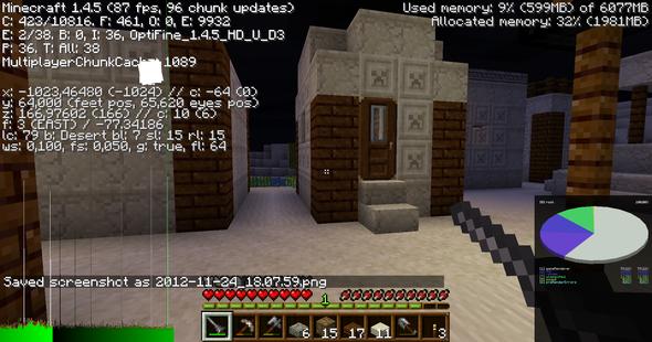 Minecraft Ruckelt TROTZ Hoher FPS Computer PC Spiele - Minecraft flussig spielen