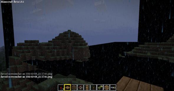 noch ein Schwarzer Streifen - (Minecraft, Grafikkarte, Grafik)