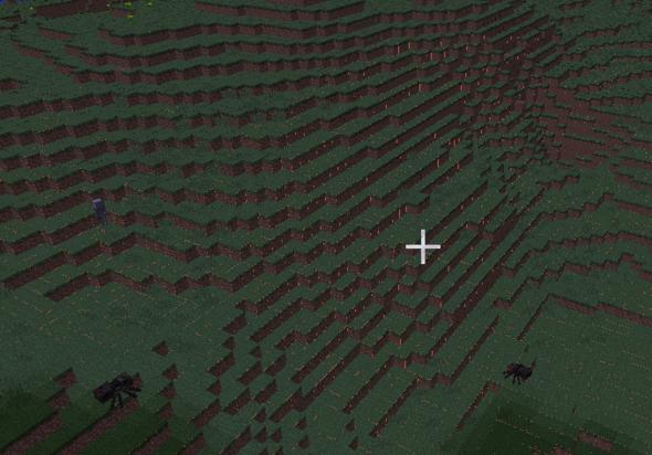 """Der """"Himmel"""" unter der welt - (Minecraft, Bug)"""