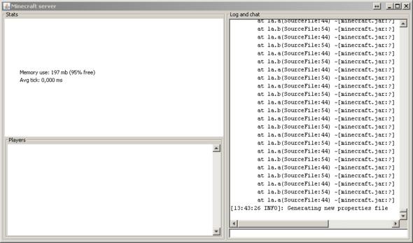 Das ist der Error - (Windows 7, Server, Java)
