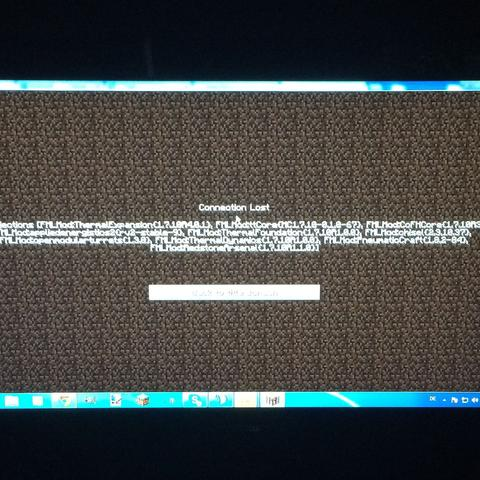 Das steht da wenn ich joinen will  - (Minecraft, Server, Modpack)
