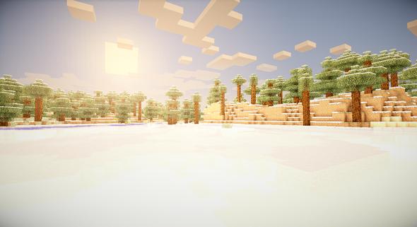 Die hellen Farben - (Minecraft, Shader mod)