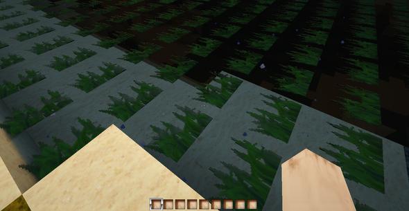 falsche Wasser Texture - (Spiele, Minecraft, Fehler)