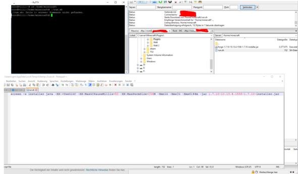 Minecraft TerraFirmaPunk Auf Debian Erstellen Computer Spiele - Minecraft server erstellen gute frage