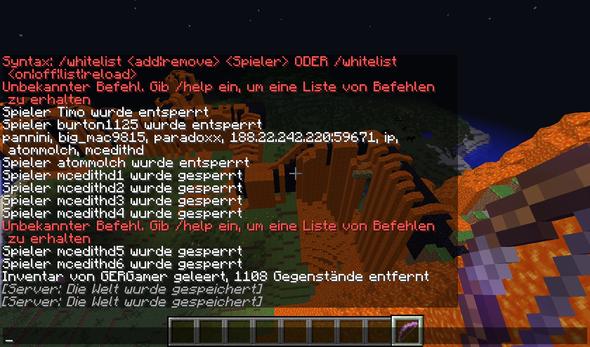 Der Server Stammt Von Nitrado Absolute Hotties - Minecraft ps4 spieler entbannen