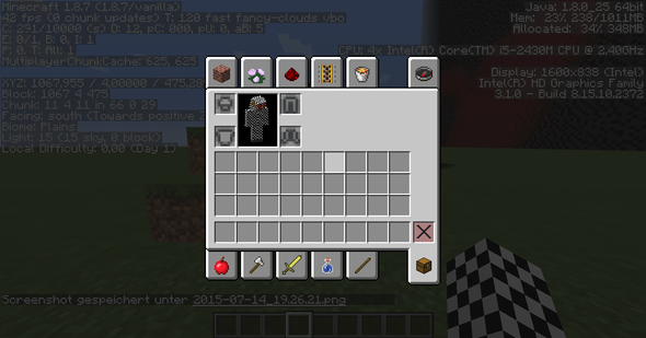 .. - (Minecraft, verschwommen, pixelig)