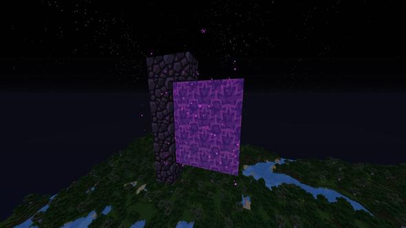 Netherportal geht nicht aus - (Minecraft, geht nicht , aus)