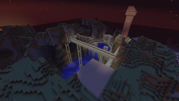 Der ganze rest - (Minecraft, bauen, großes)