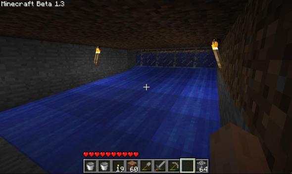Minecraft Wie Macht Man Einen Künstlich Angelegten Fluss Computer - Minecraft computerspiele