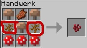 links und rechts in der mitte, was ist ds? - (Minecraft, Wurzel)
