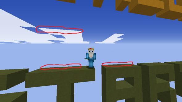 Hier der ZickZack-Fehler - (PC, Spiele, Minecraft)