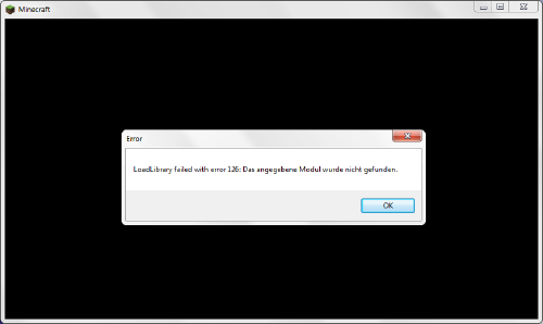Hier der Fehler! - (Minecraft, Fehler, Java)