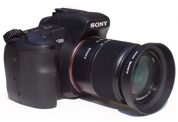 Minolta MD Rokkor 50 mm. 1 : 1.4  auf Sony alpha 200?