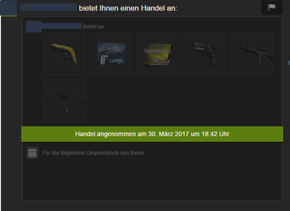 Das Angebot - (Steam, csgo, Trade)