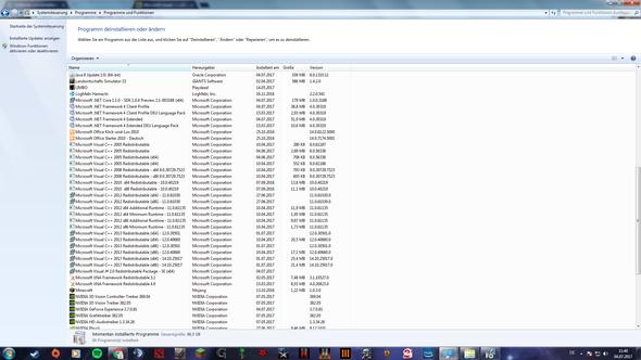 Die Programme  - (PC, Software, Microsoft Visual c)