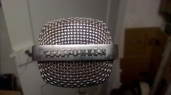 Das Mikro von vorne - (Mikrofon, lets-play, Mischpult)
