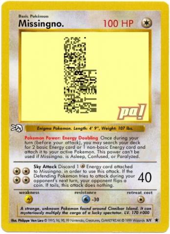 pokemon yellow how to get missingno