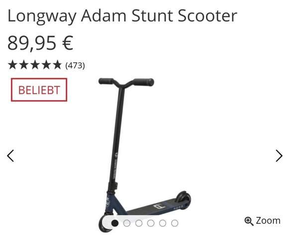 Mit 23 noch das Stunt Scooter fahren lernen?
