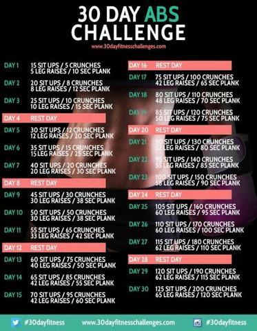 Bekannt 30 Tage Challenge Abnehmen Pg82 Startupjobsfa