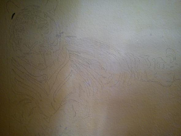 Mit Acrylfarben Auf Wand Malen Acrylfarbe