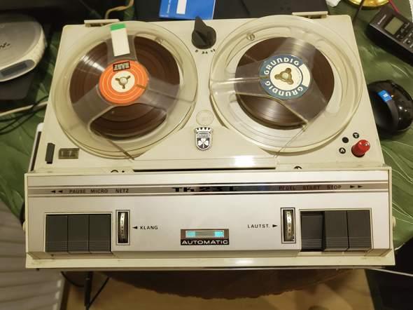 Mit altem Tonbandgerät Musik aufnehmen vom PC?