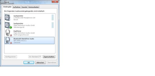 Wiedergabegeräte - (PC, Technik, Windows 7)