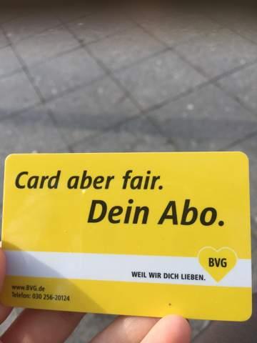 Mit BVG Bahnkarte Bus fahren?