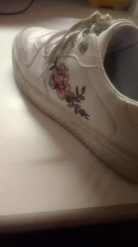 Mit Textilstift Schuh anmalen? (Schuhe, malen)