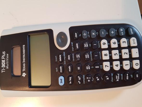 Mit Ti 30x Plus Multiview Runden M Computer Mathe Taschenrechner
