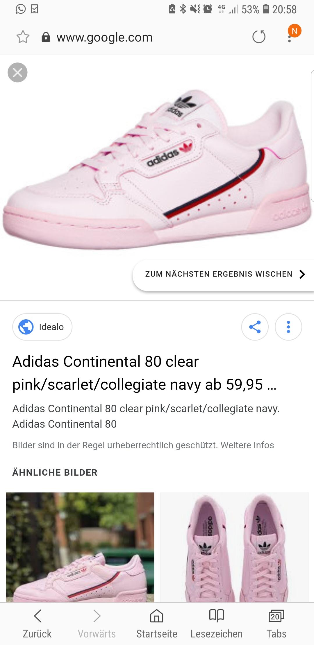 Mit was kann man pinke Adidas Schuhe kombinieren? (Mode