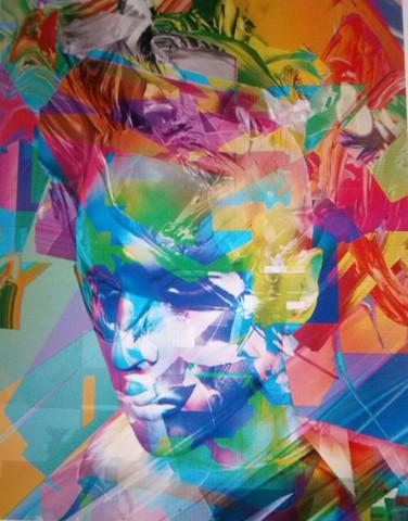 Kunstwerk, Abstrakt - (Programm, Kunst, Adobe)