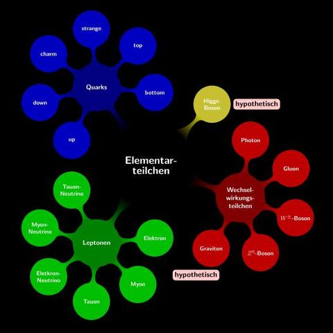 Elementarteilchen Übersicht - (Programm, Bilder, Grafik)