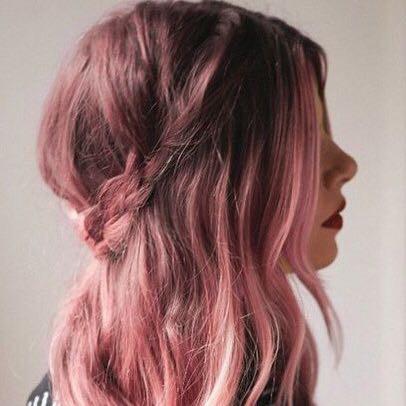 Mit Welcher Farbe Bekomme Ich Dieses Ergebnisrosa Haare
