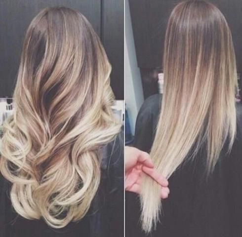 Mittelbraune Haare Mit Rot Stich Auf Blond Bzw Aschblond Färben