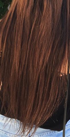 (3) Meine jetzige Haarfarbe  - (Haare, Farbe, Friseur)