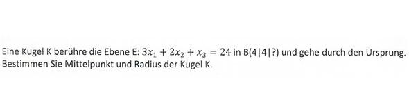 radius kugel berechnen
