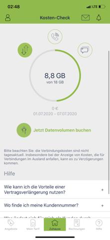 Mobilcom Debitel Datenvolumen?