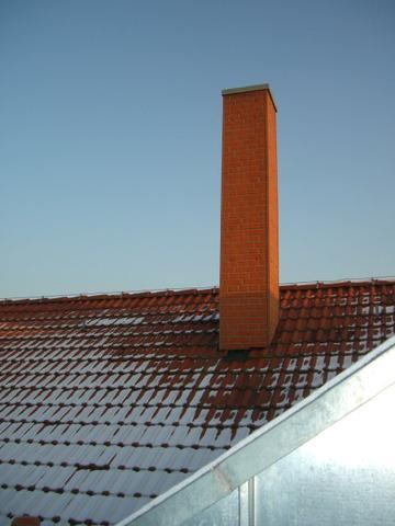 Foto von Terrasse - (Mobilfunk, Strahlung, Antenne)