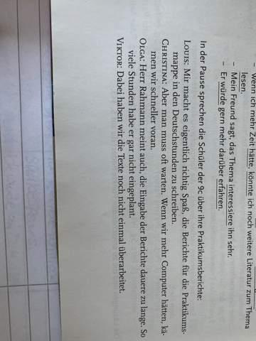 Modalformen in den Sätzen herausfinden doch wie?