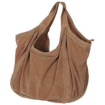 Tasche aus Wildlederimitat - (Mädchen, Beauty, Frauen)