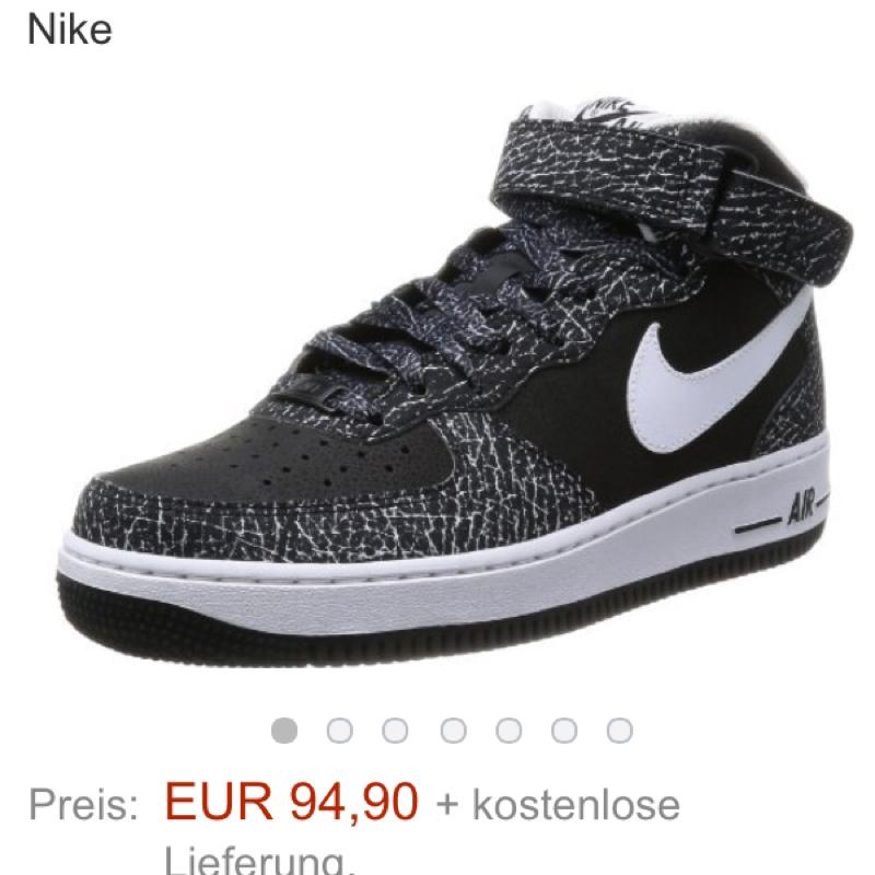 Nike Air Force Weiß Kombinieren