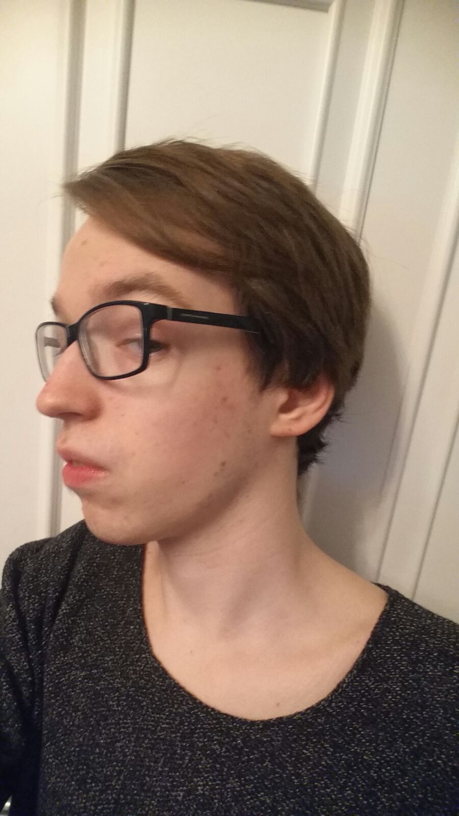 Moderne Frisur