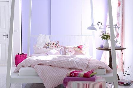 .. - (Farbe, wohnen, Bett)