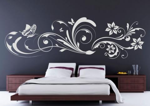 airbrush schablonen garten ideen bilder. Black Bedroom Furniture Sets. Home Design Ideas