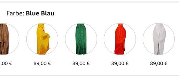 Möchte mir eine Burka holen welche Farbe meint ihr ist am schönsten?
