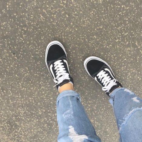 Vans-Old Skool (Damen) - (Schuhe, Vans, Schuhgröße)