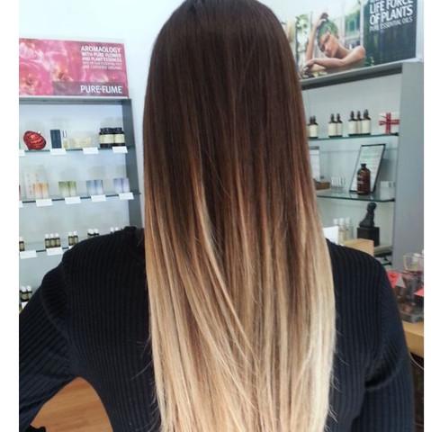 Ombre  - (Haare, Mode, Schönheit)